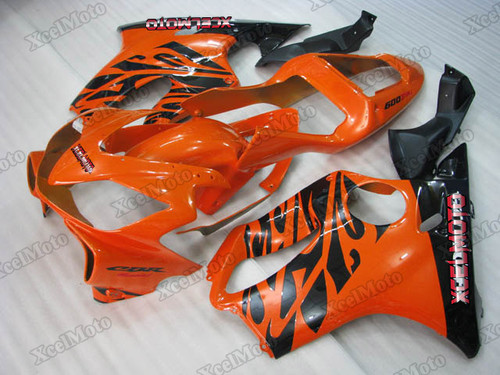 2001 2002 2003 Honda CBR600F4i orange and black fairings