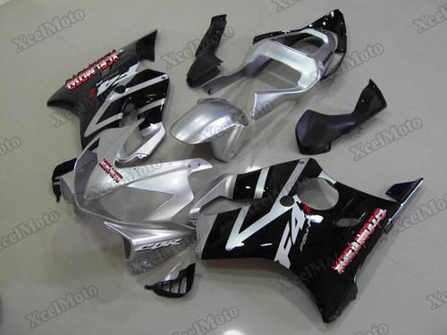 2001 2002 2003 Honda CBR600F4i silver and black fairing