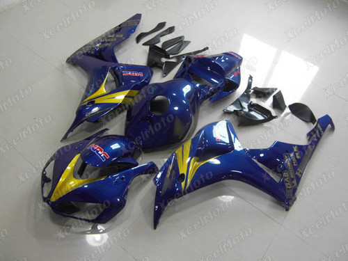 2006 2007 Honda CBR1000RR blue fairings and body kit