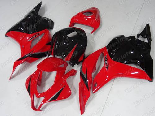 2009 2010 2011 2012 Honda CBR600RR F5 red and black fairing
