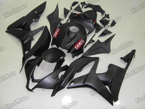 2007 2008 Honda CBR600RR matte black fairing