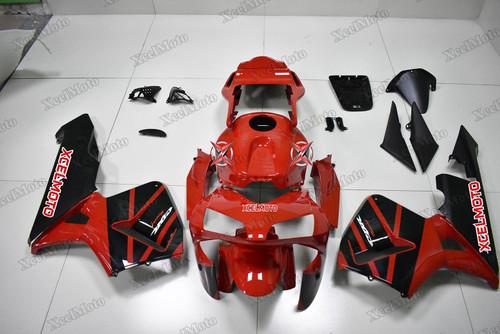 Honda CBR600RR 2003 2004 OEM fairings red and black paint.