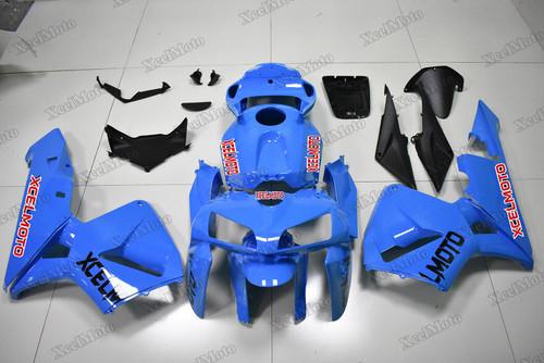 2005 2006 Honda CBR600RR blue fairings