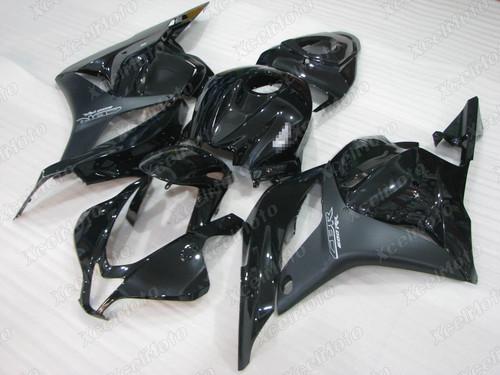 2009 2010 2011 2012 Honda CBR600RR F5 black fairing