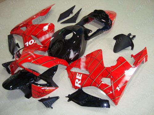 2003 2004 Honda CBR600RR F5 Spider Man graphic fairing kit