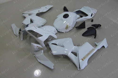 2003 2004 Honda CBR600RR F5 aftermarket fairing pearl white with gold stickers