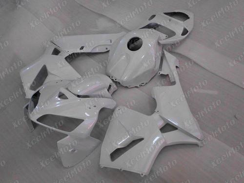 2003 2004 Honda CBR600RR pearl white fairing