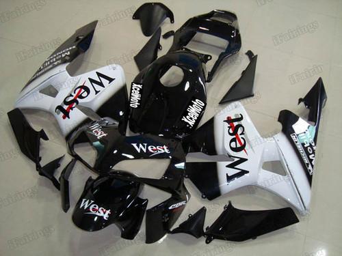2003 2004 Honda CBR600RR West scheme fairing kit