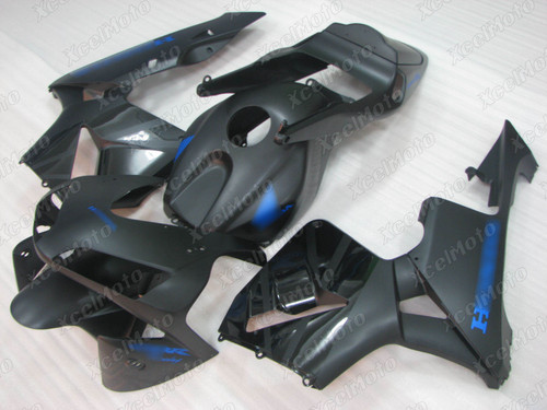 2003 2004 Honda CBR600RR matte black fairing kit