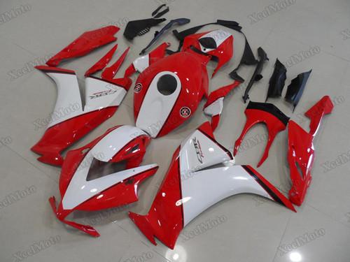 2012 2013 2014 2015 2016 Honda CBR1000RR FireBlade aftermarket fairing red and white scheme