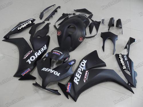 2012 2013 2014 2015 2016 Honda CBR1000RR FireBlade matte black Repsol fairing kit