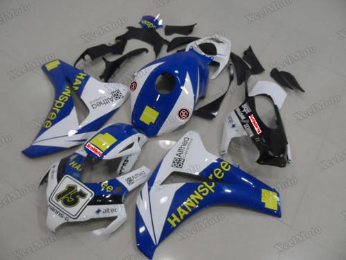 2008 2009 2010 2011 Honda CBR1000RR custom fairing HANNspree livery