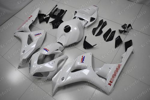 2006 2007 Honda CBR1000RR pearl white fairing