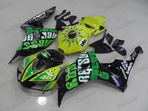 2006 2007 Honda CBR1000RR Valentino Rossi race replica fairing kit.