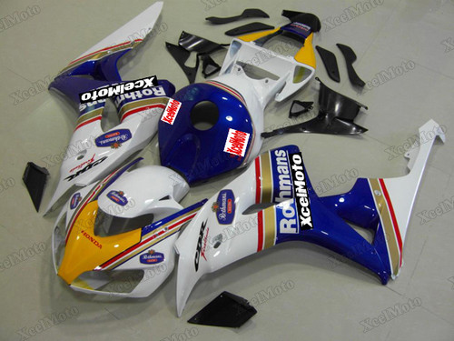 2006 2007 Honda CBR1000RR Rothmans scheme fairing and bodywork