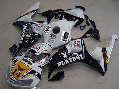 2006 2007 Honda CBR1000RR Playboy graphic body kit