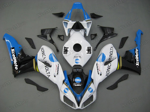 2006 2007 Honda CBR1000RR Konica Minolta graphic fairing kit