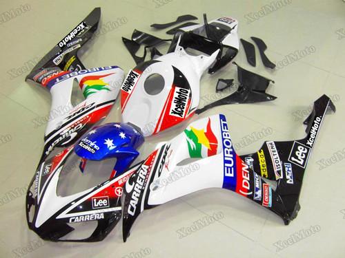 2006 2007 Honda CBR1000RR Eurobet pattern fairing kit