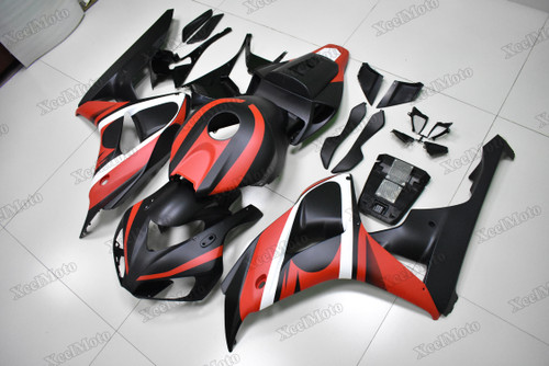 2006 2007 Honda CBR1000RR red and black matte finish