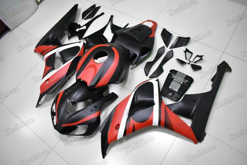 2006 2007 Honda CBR1000RR red and black matte finish