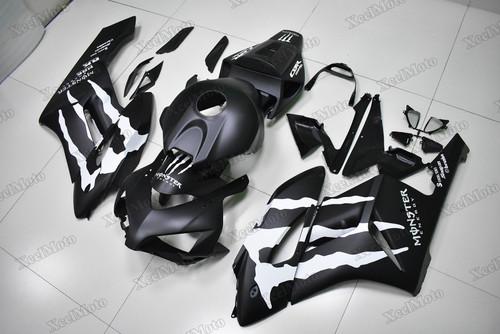 2004 2005 Honda CBR1000RR matte black monster fairing kit