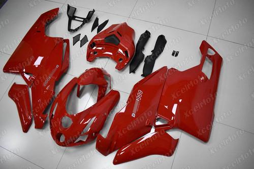 2003 2004 Ducati 749 999 red fairing