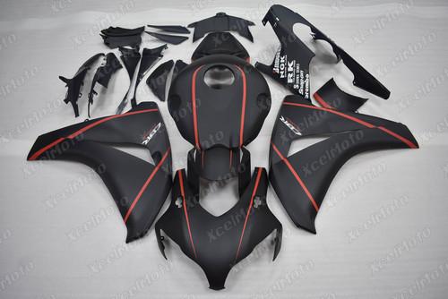 2008 2009 2010 2011 Honda CBR1000RR matte black fairing