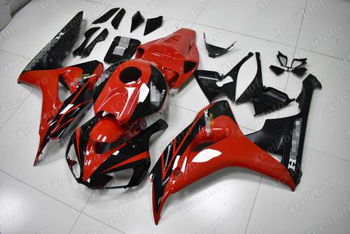 2006 2007 Honda CBR1000RR Fireblade OEM fairing red and black