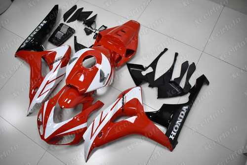 2006 2007 Honda CBR1000RR Fireblade red and black fairing