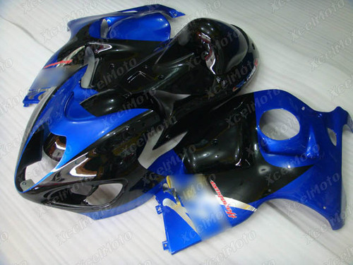 Suzuki Hayabusa GSXR1300 blue and black fairing for sale