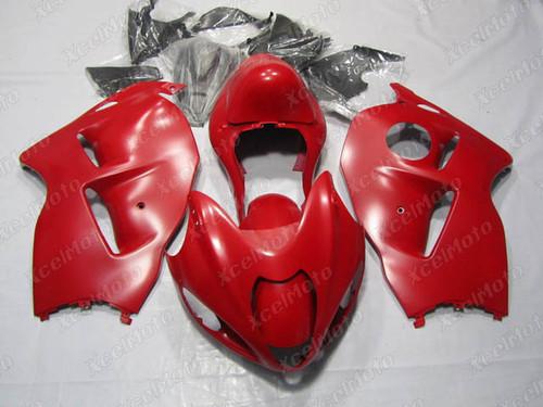 Suzuki Hayabusa GSXR1300 matte red fairing