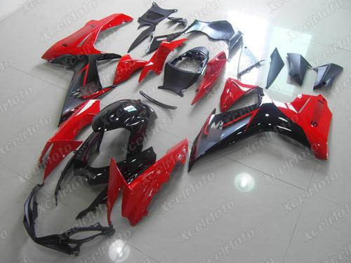 2011 to 2018 2019 2020 Suzuki GSXR 600/750 red and black fairing