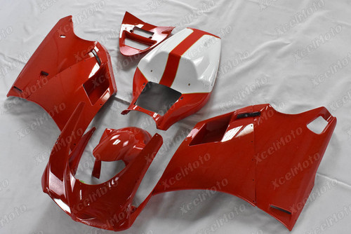 Ducati 749 916 996 red and white fairing
