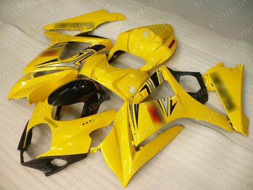 2007 2008 Suzuki GSXR1000 Gixxer yellow fairing