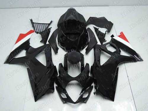 2007 2008 Suzuki GSXR1000 Gixxer black fairing
