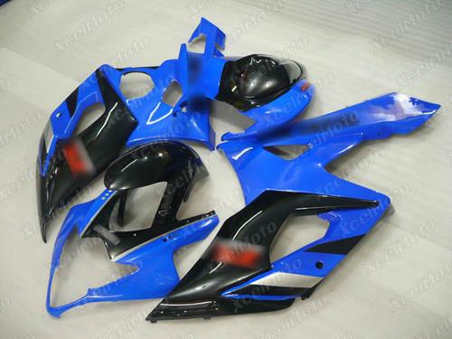 2005 2006 Suzuki GSXR1000 GIXXER K5 K6 blue and black fairing for sale