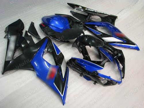 2005 2006 Suzuki GSXR1000 GIXXER K5 K6 black and blue fairing