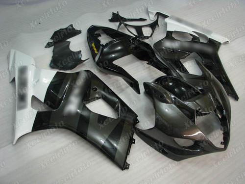 2003 2004 SUZUKI GSXR1000 GIXXER K3 K4 grey and black fairing