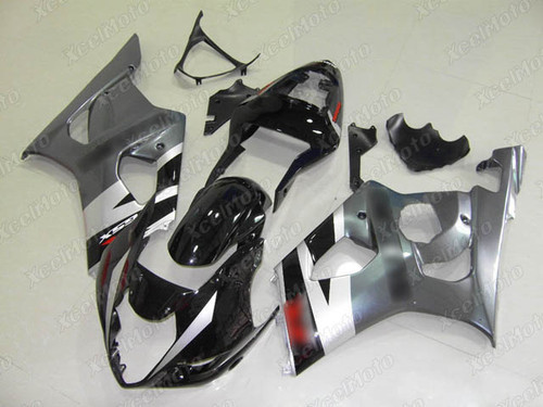 2003 2004 SUZUKI GSXR1000 GIXXER K3 K4 black and grey fairing