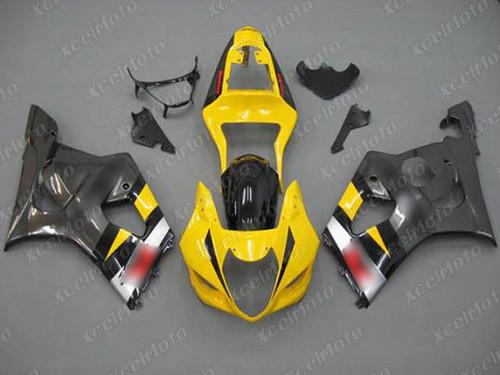 2003 2004 SUZUKI GSXR1000 GIXXER K3 K4 yellow and grey fairing