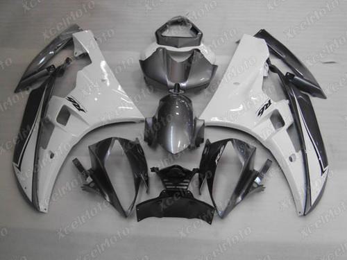 2006 2007 Yamaha R6 grey and white fairing