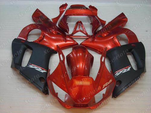 1999 2000 2001 2002 YAMAHA R6  red white and black fairing