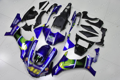 2015 2016 2017 2018 2019 YAMAHA R1 AGV Rossi fairing kit.