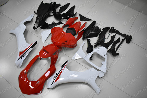 2015 2016 2017 2018 2019 YAMAHA R1 red and white fairing