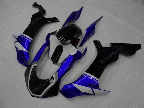 2015 2016 2017 2018 2019 YAMAHA R1 blue and black fairing