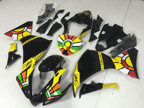 2012 2013 2014 YAMAHA R1 Ross AGV fairing