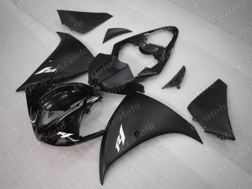 2009 2010 2011 YAMAHA R1 black fairing