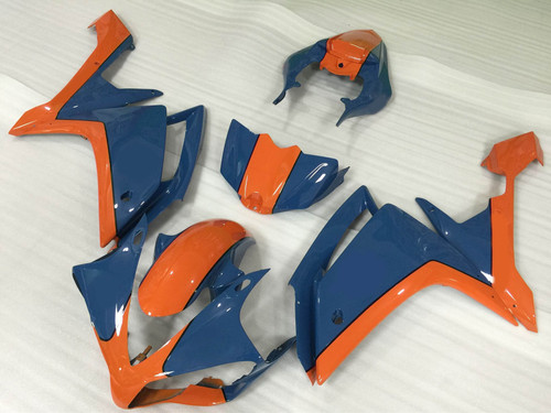 2007 2008 YAMAHA R1 orange and blue fairing