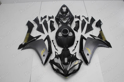 2007 2008 YAMAHA R1 black and grey fairing