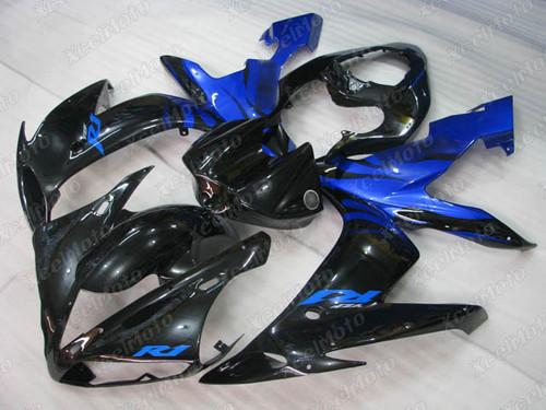 2004 2005 2006 YAMAHA R1 black and blue fairing